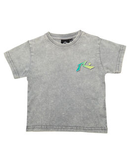 STONE GREY KIDS TODDLER BOYS RUSTY TOPS - TTR0418SOG