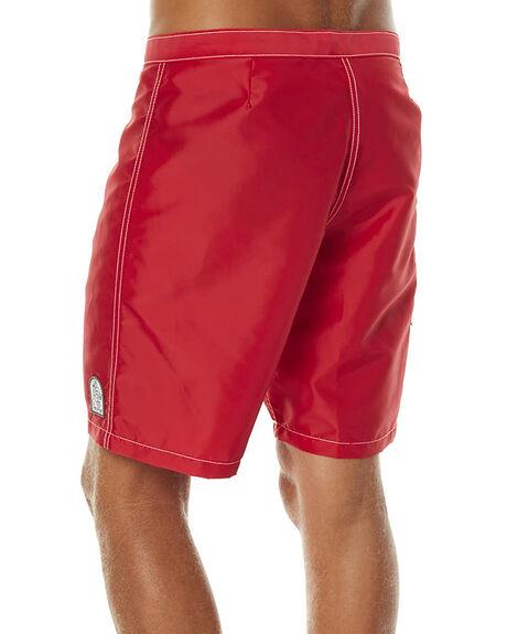 RED MENS CLOTHING KATIN BOARDSHORTS - TRKYLFS16RED