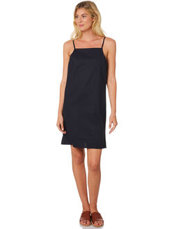FRENCH NAVY WOMENS CLOTHING ELWOOD DRESSES - W83707CPM
