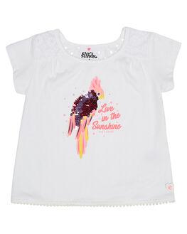 WHITE KIDS TODDLER GIRLS EVES SISTER TOPS - 8021061WHT