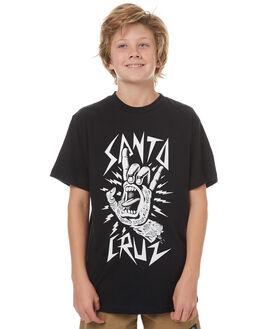 BLACK KIDS BOYS SANTA CRUZ TEES - SC-YTC7033BLK
