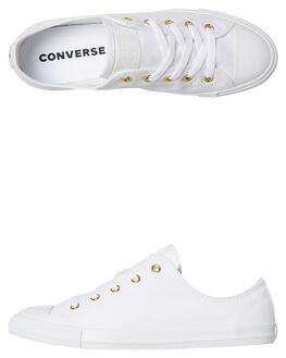 WHITE WOMENS FOOTWEAR CONVERSE SNEAKERS - 561644WHT