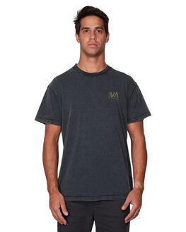 BLACK ACID MENS CLOTHING RVCA TEES - RV-R107050-252