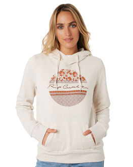 OATMEAL MARLE WOMENS CLOTHING RIP CURL JUMPERS - GFEJD18526