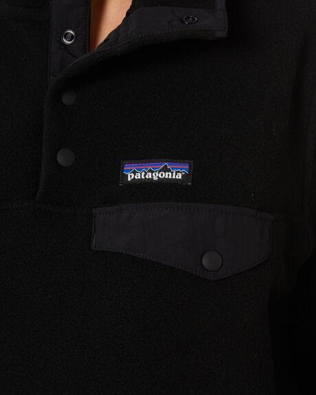 BLACK W WHITE WOMENS CLOTHING PATAGONIA HOODIES + SWEATS - 25455BOB