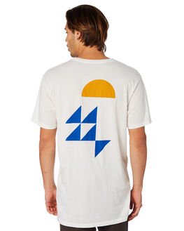 WHITE MENS CLOTHING MOLLUSK TEES - MS1711WHT