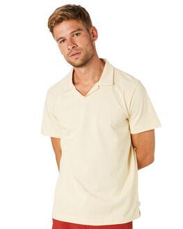 VINTAGE WHITE MENS CLOTHING RHYTHM SHIRTS - NOV18M-SS02WHT