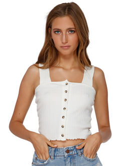 WHITE CAP WOMENS CLOTHING BILLABONG FASHION TOPS - BB-6591137-1WC