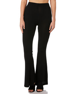 BLACK WOMENS CLOTHING MINKPINK PANTS - MP1810034BLK