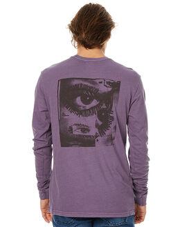 DUSTY GRAPE MENS CLOTHING RVCA TEES - R373091DGRP
