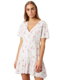 FLORAL PRINT WOMENS CLOTHING ELWOOD DRESSES - W937224JR