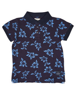 NAVY BLUE KIDS BOYS ROOKIE BY THE ACADEMY BRAND TOPS - R20S464NVYB