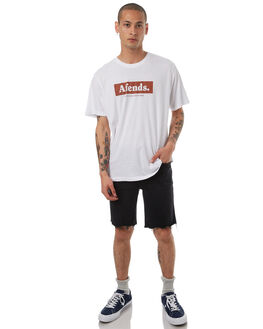 BLACK MARR MENS CLOTHING WRANGLER SHORTS - W-901088-DD6BLKMA