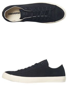 BLACK EGRET MENS FOOTWEAR CONVERSE SNEAKERS - 159750BLK