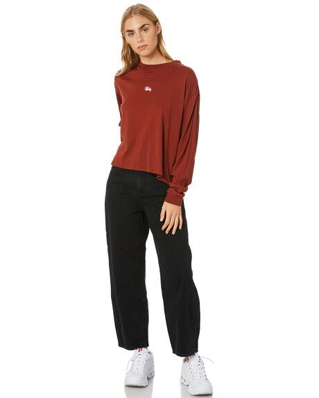 BRICK WOMENS CLOTHING STUSSY TEES - ST107004BRICK