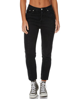 BLACK DUST WOMENS CLOTHING ZIGGY JEANS - ZW-1302BLKD