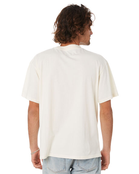 DIRTYWHITE MENS CLOTHING THE CRITICAL SLIDE SOCIETY TEES - TE2103DIW