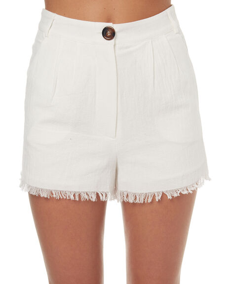 OFF WHITE OUTLET WOMENS MINKPINK SHORTS - MP1706930OFFWH