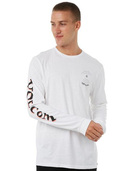 WHITE MENS CLOTHING VOLCOM TEES - A3611871WHT