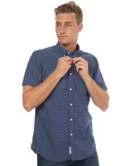 NAVY MENS CLOTHING ACADEMY BRAND SHIRTS - 18S807NAVY