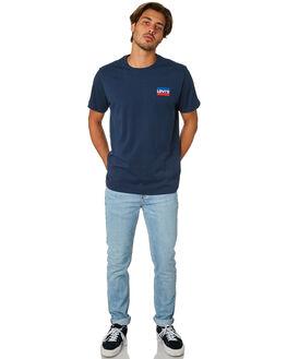 DRESS BLUES MENS CLOTHING LEVI'S TEES - 39636-0015