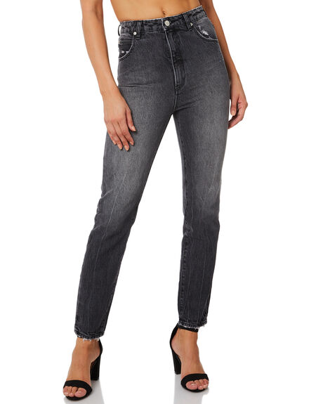 90S BLACK WOMENS CLOTHING ROLLAS JEANS - 12687-4051