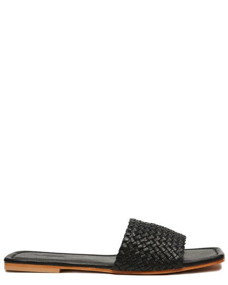 BLACK ILLED WOMENS FOOTWEAR URGE FASHION SANDALS - URG20001BMILL