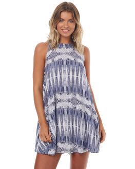 BLUES CHIEF WOMENS CLOTHING ROXY DRESSES - ERJWD03149BLUES