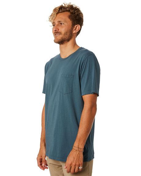 SLATE MENS CLOTHING KATIN TEES - KNBAS00SLATE