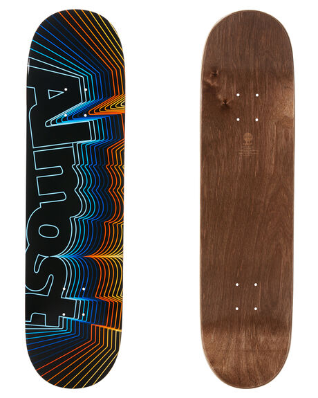 BLACK BOARDSPORTS SKATE ALMOST DECKS - 100231152BLK