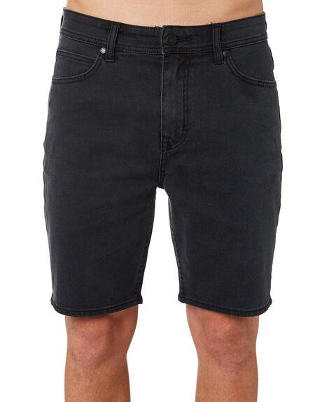 LUNAR BLACK MENS CLOTHING LEE SHORTS - L-606422-T79LBLK
