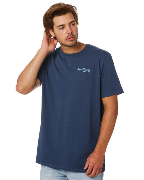 NAVY MENS CLOTHING SWELL TEES - S5201010NAVY
