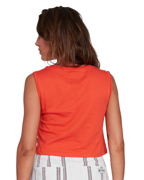 RED CLAY WOMENS CLOTHING ELEMENT SINGLETS - EL-202271-REY