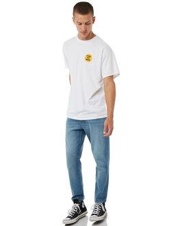 WHITE MENS CLOTHING DEAD KOOKS TEES - DKSSTEE12WHT