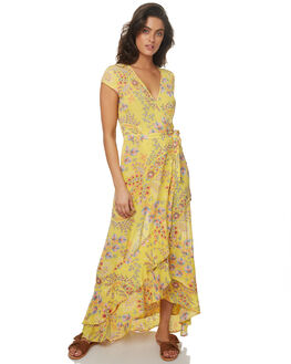 SUNFLOWER WOMENS CLOTHING TIGERLILY DRESSES - T372431SUN