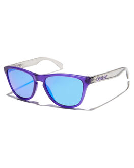 MATTE PURPLE PRIZM KIDS BOYS OAKLEY SUNGLASSES - 0OJ9006-1153