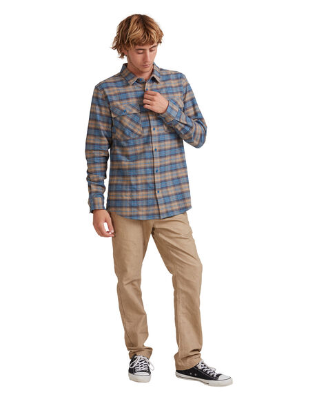 LADDERS SARGASSO SEA MENS CLOTHING QUIKSILVER SHIRTS - UQYWT03042-BSG1