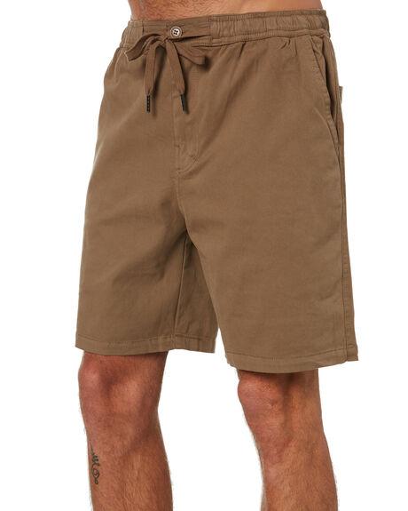 WOOD MENS CLOTHING STAY SHORTS - SWA-1901WOD