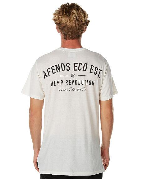 NATURAL MENS CLOTHING AFENDS TEES - 01-10-003NAT