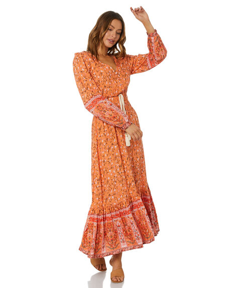 ORANGE WOMENS CLOTHING SHAREEN DRESSES - MD01089-5ORNG