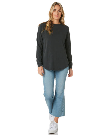 ACIC BLACK WOMENS CLOTHING SILENT THEORY JUMPERS - 6010032WBLK
