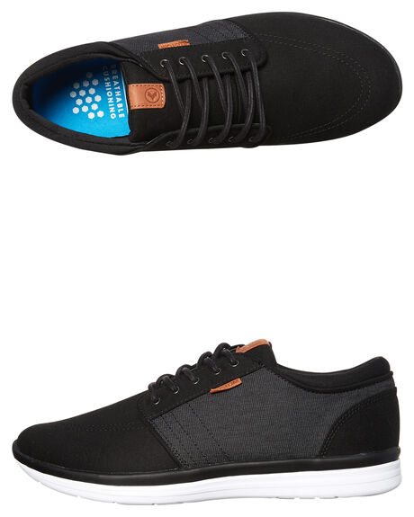 BLACK MICRO OUTLET MENS KUSTOM SNEAKERS - 4976102ABLKMI