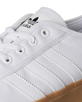 WHITE MENS FOOTWEAR ADIDAS SKATE SHOES - SSDB3110WHTM