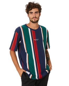 ROYAL STRIPE MENS CLOTHING RPM TEES - 20AM02A2RYLST