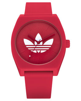 TREFOIL RED MENS ACCESSORIES ADIDAS WATCHES - Z10-3262