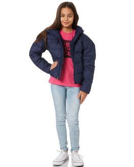 MONTAGUE BLUE KIDS GIRLS THE NORTH FACE JUMPERS + JACKETS - NF0A3NKTJC6BLU