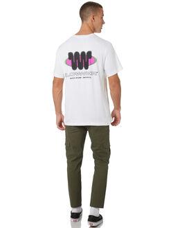 WHITE MENS CLOTHING LOWER TEES - LO19Q1MTS01WHT