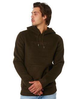OLIVE MENS CLOTHING RHYTHM JUMPERS - JUL19M-FL08-OLI