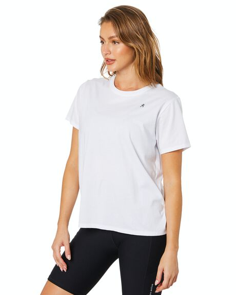 WHITE WOMENS CLOTHING DK ACTIVE ACTIVEWEAR - DK06-026-WHT-XS