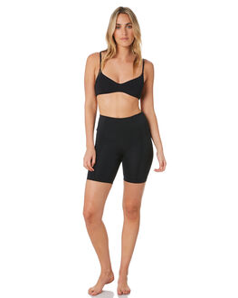 BLACK WOMENS CLOTHING HURLEY ACTIVEWEAR - CQ4439010